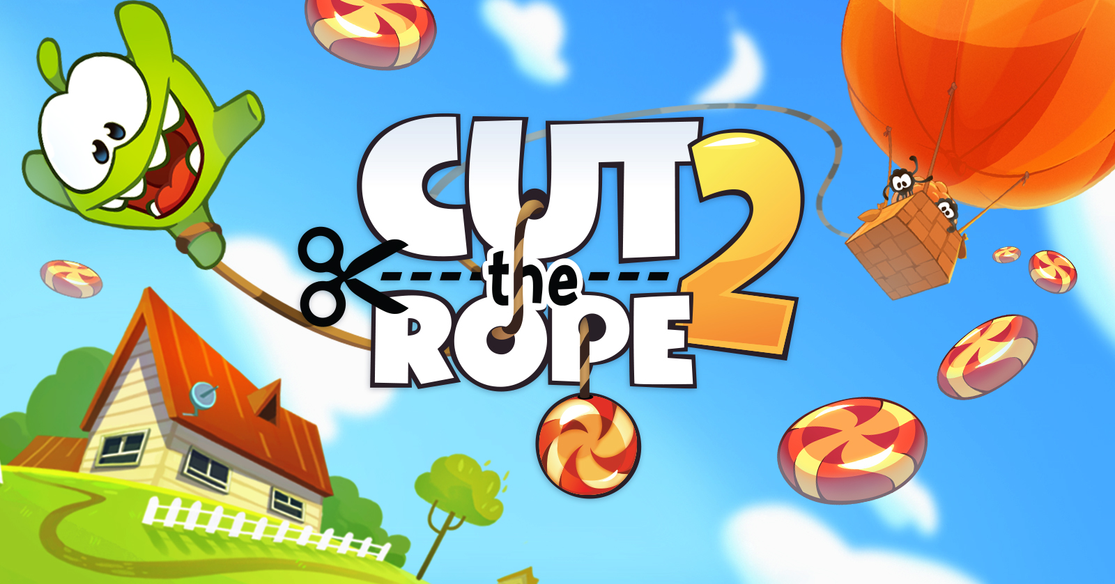 a banner from cut the rope 2