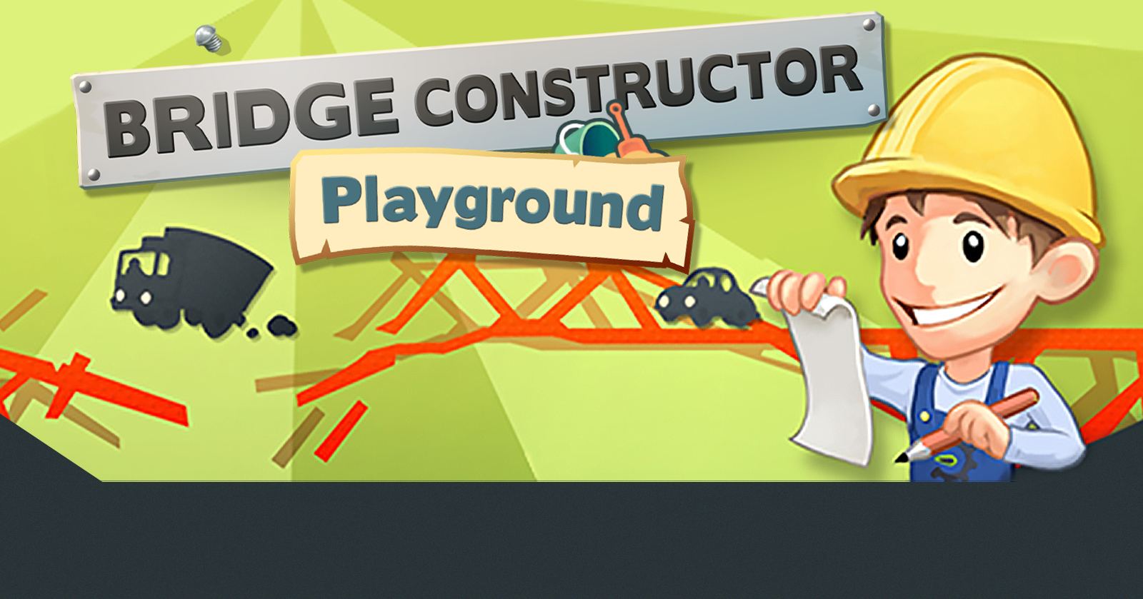 picture from bridge constructor playground